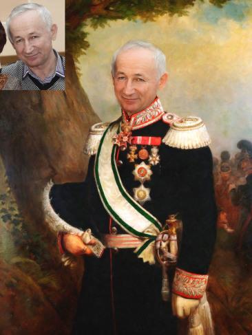 Где заказать исторический портрет по фото на холсте в Волгограде?