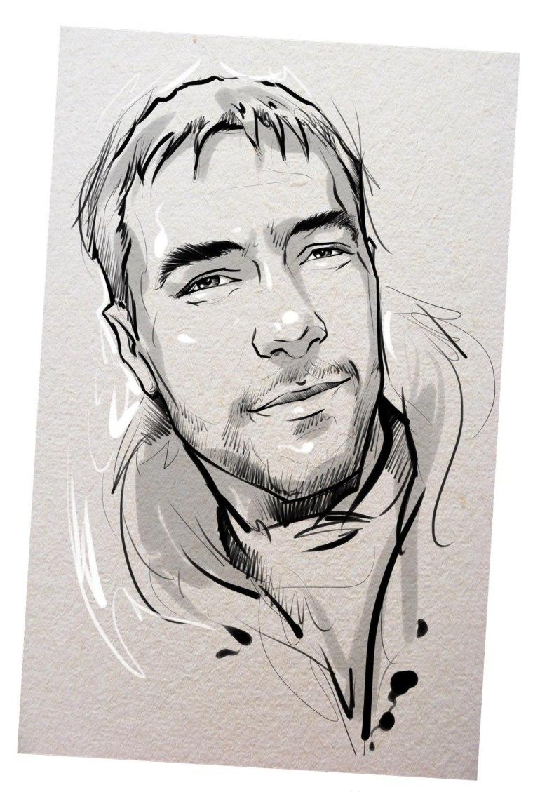 Портрет карандашом любимому мужу в Волгограде…