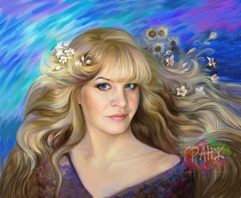 Настоящий портрет по фото на холсте заказать в Волгограде