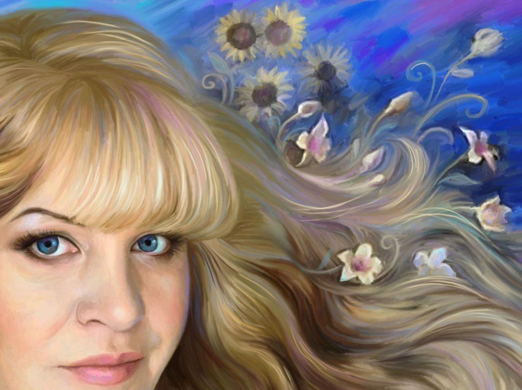 заказать ее портрет на холсте в Волгограде