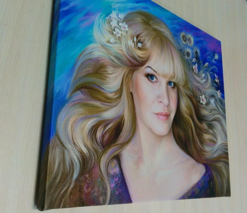арт портрет на холсте заказать в Волгограде