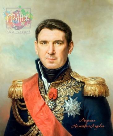 Портрет по фото на холсте в подарок мужчине на 23 февраля Волгоград