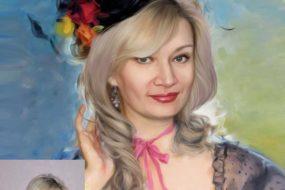 Заказать арт портрет по фото на холсте в Волгограде…