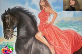 Заказать портрет маслом в Волгограде